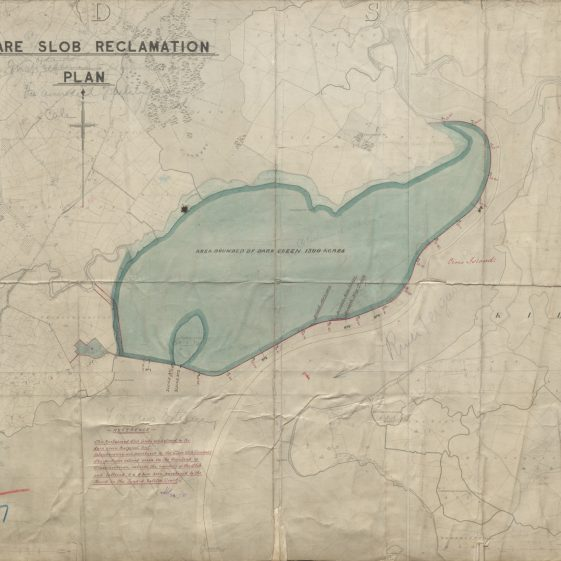 Clare Slob Reclamation Plan Office  | With permission: archive.waterwaysireland.org