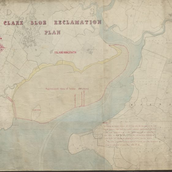Clare Slob Reclamation Plan | With permission: archive.waterwaysireland.org
