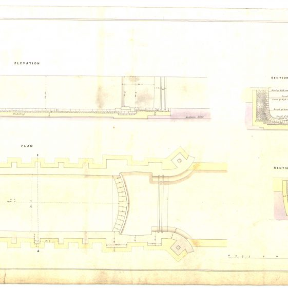 Proposed lock at Clare River Fergus | With permission: archive.waterwaysireland.org
