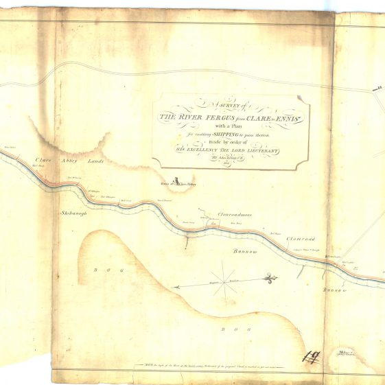 Survey of River Fergus from Clare to Ennis  | With permission: archive.waterwaysireland.org